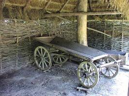 Деревенская телега