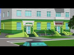 Аптека и магазин по ул. Дуки,6