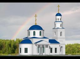 Православный храм по ул. 50 лет Армии в Бежицком р