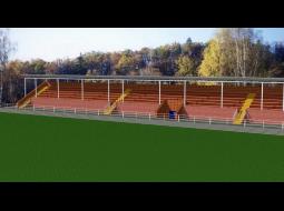 Проект реконструкции стадиона в г. Сельцо