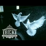 Элемент памятника голуби