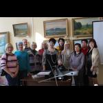 Мастер-класс по печатной графике Е. Клюевой