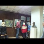 Творческая встреча с художником В. Сидоровым